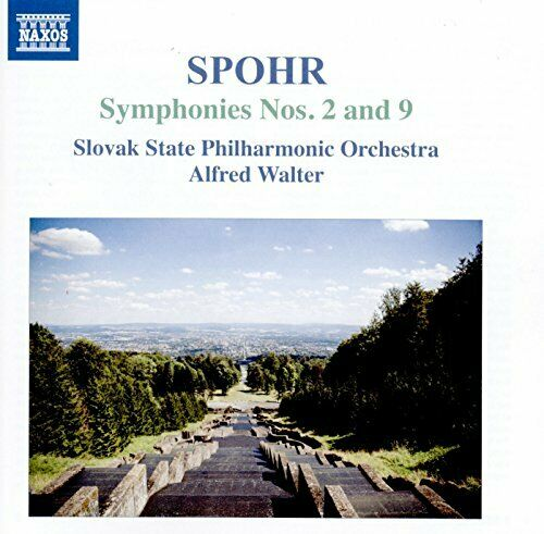 SLOVAK STATE PO/WALTER - SPOHR:SYMPHONIES NOS 2 and 9 [CD]
