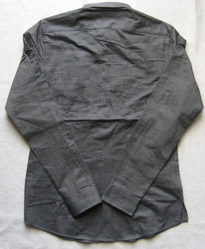 Nikolai D 'Etoiles Uomo-Camicia superiore Dale tg. 39 GRIGIO GRIGIO GRIGIO e93769