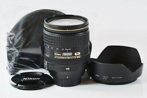 [TOP Mint] Nikon AF-S Nikkor 24-120mm f4g ED VR Zoom Lens aus Japan n366