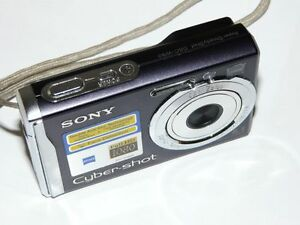 Sony-Cyber-shot-DSC-W90-8-1-MP-Digital-Camara-Negro