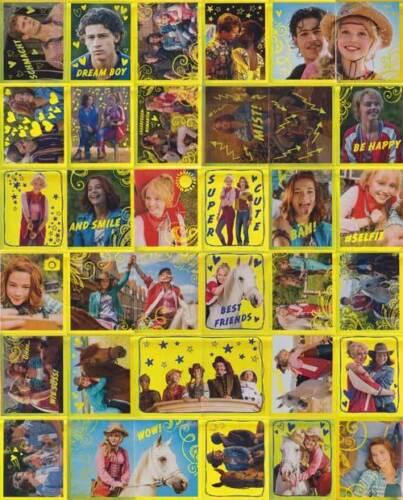 Blue Ocean sticker Bibi /& tina film collages goldsticker sélection unique