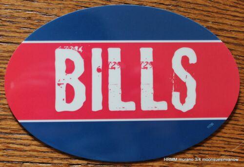 Buffalo Bills Oval Car Magnet Made In The USA Football Sports Decor Waterproof