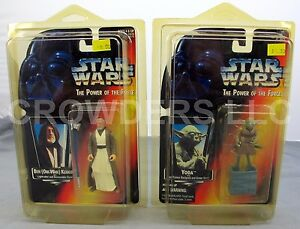 Star Wars Power of the Force Ben (Obi-Wan) Kenobi & Yoda Jedi Trainer Backpack