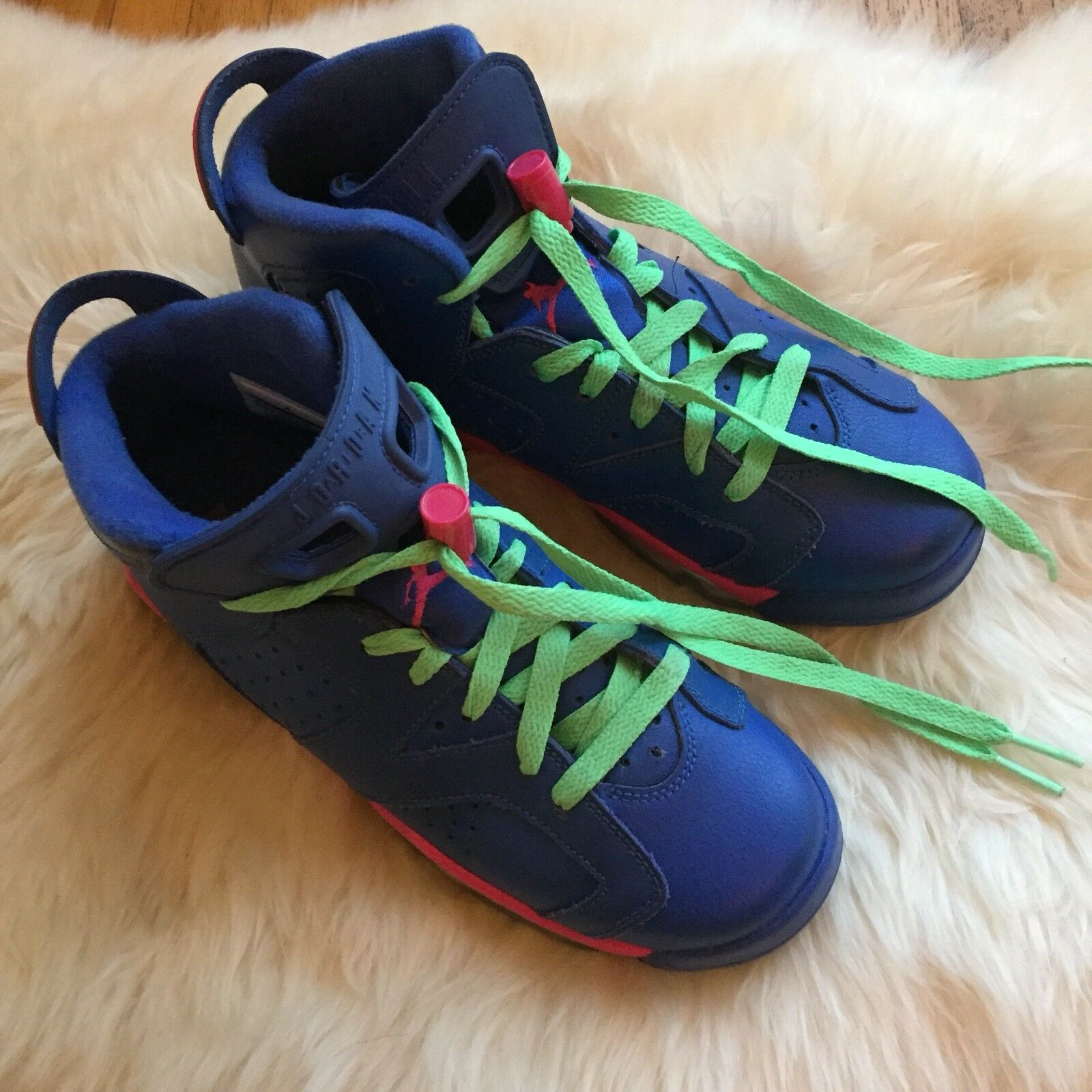 Nike Air Jordan VI Game Royal 6 Retro GS Pink 7.5 (6.5 youth)