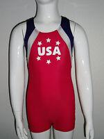 Boys Patriotic Gymnastics Leotard