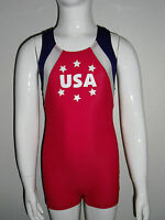 Boys Patriotic Gymnastics Leotard