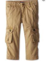 Tommy Hilfiger Toddler Boys Khaki Chino Cargo Pants 12m