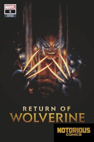 Return of Wolverine #5 Kubert Variant Marvel Comics 1st Print EXCELSIOR BIN