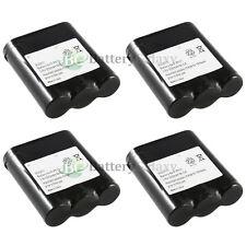 x4 Phone Battery for Panasonic P-P511 ER-P511 HHR-P402