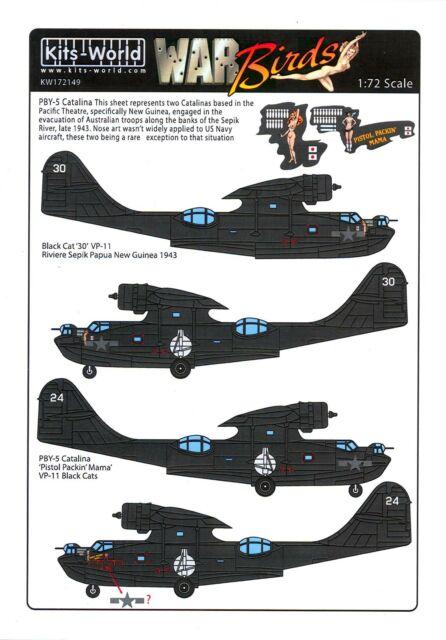Academy 1:72 MONTEX MM72132 PBY-2//5A Catalina
