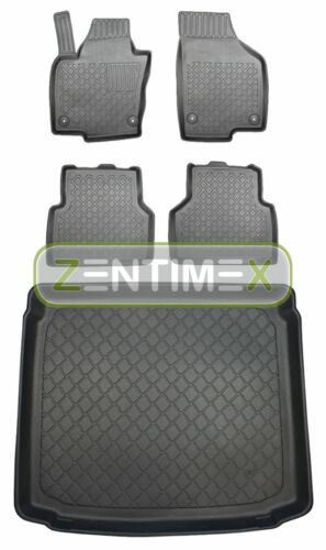 Z331218 Set Tappetino Vasca In Gomma Tappetini per VW VOLKSWAGEN TIGUAN 4 motion allr