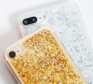 Bling-Glitter-Foil-Crystal-Soft-TPU-Silicone-Case-Cover-For-iPhone-X-8-7-Plus-6