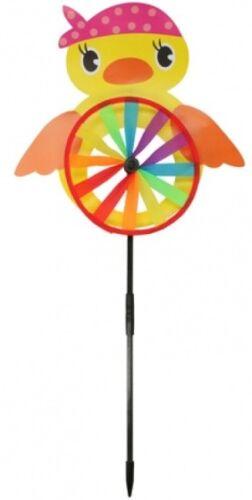Plastic Windmill Pinwheel Wind Spinner Kids Toy Lawn Garden Party Decor