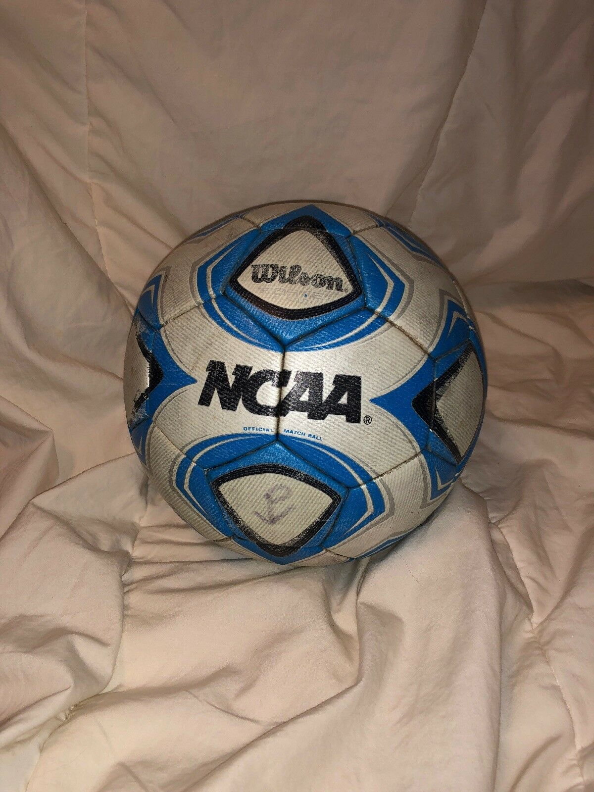 NCAA Wilson Official Soccer Match Ball Größe 5 5 5 a00c56