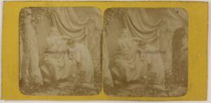 Foto-Stereo-Artistico-Illustrato-Allegorie-Francia-T3n28-Vintage-Albumina-c1870