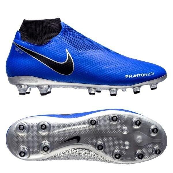 Nike Hypervenom Fantasma AG botas de fútbol Calcetín visión Pro Talla 8 42.5 fantasma