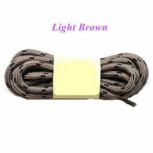 """47/"""" Outdoor Sport Casual Round Shoelaces Hiking Slip Rope Sneakers Boot Strings"""