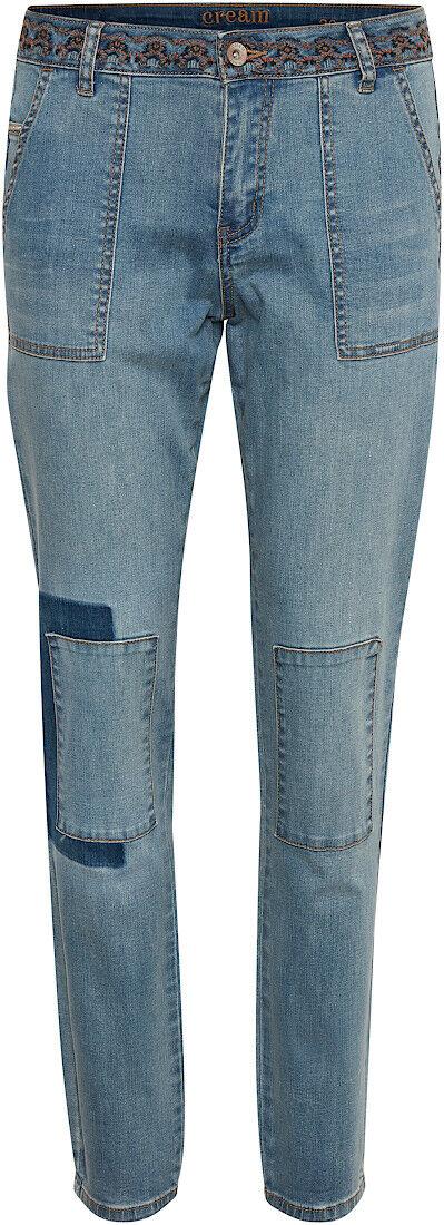 Cream 10608753 Jeans Trousers/Soft Blue Denim/Autumn 2021 Size 29