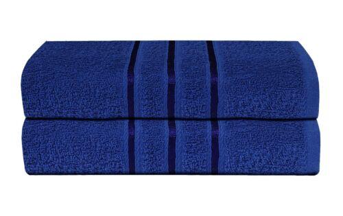 2 Piece Bathroom Bath Towel Sheet Soft Egyptian Cotton Premium Luxury BLACK Gift
