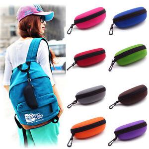 Portable-Zipper-Sunglasses-Box-Case-Eye-Glasses-Clam-Shell-Protector-Hard-Pouch
