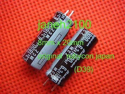 10P  RUBYCON ZL1800uF 35v Radial Electrolytc Capacitor