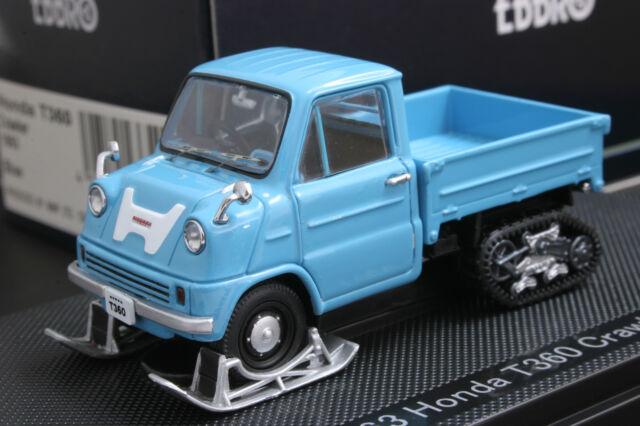 EBBRO 43654 143 SCALE 1963 HONDA T360 TRUCK CRAWLER DIE CAST MODEL CAR BLUE
