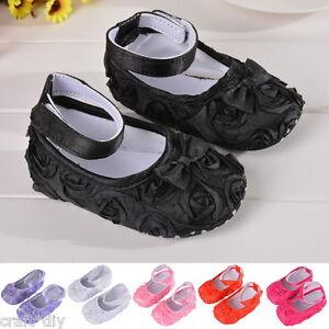 46955d8770fde Mode Chaussons Bébé Chaussures Rose Cuir Semelle Souple Enfant Fille ...