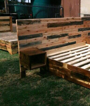 Pallet wood beds for sale | Midrand | Gumtree Classifieds ...