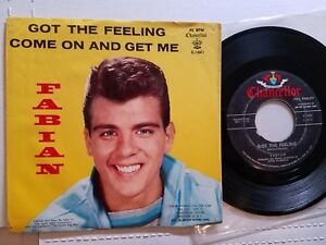 FABIAN-Got-The-Feeling-Come-On-And-Get-Me-1958-Rock-n-Roll-Rockabilly-7-034-p-s