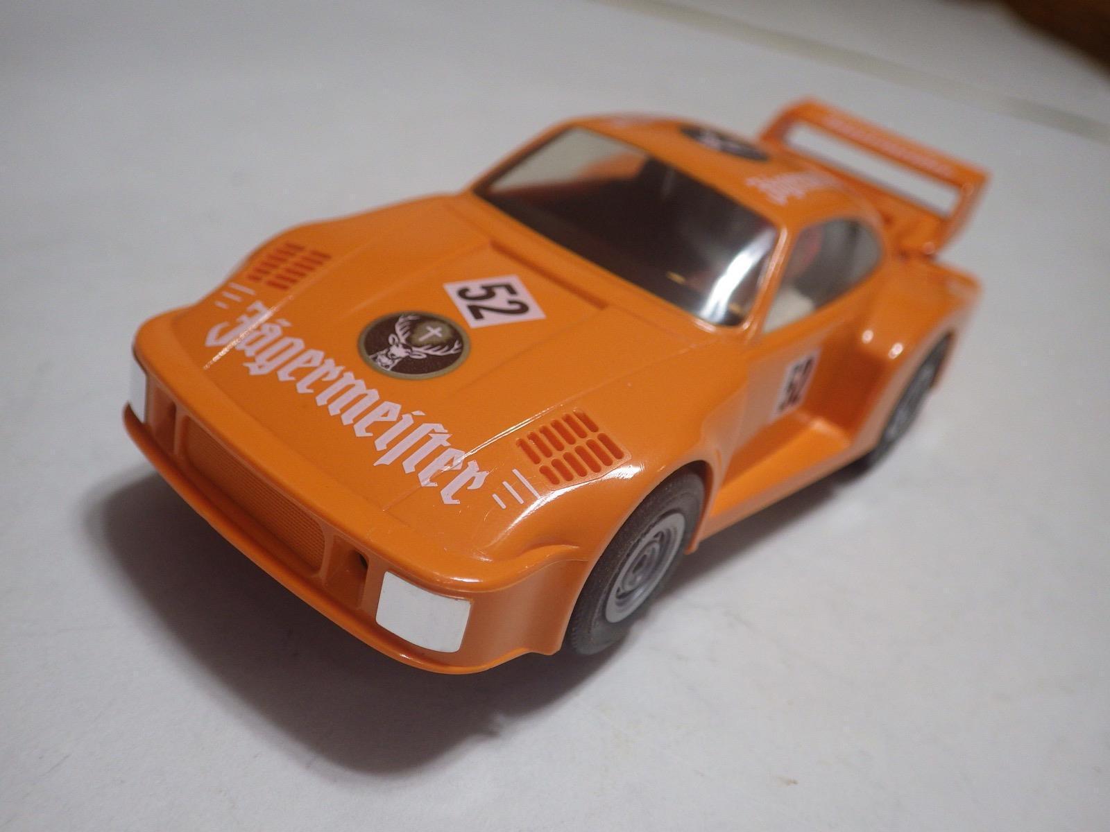 Fleischmann Auto-Rallye (Alemania) Naranja Porsche 935 Delantales de ranura de coche 132