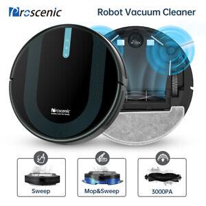 Proscenic 850P Alexa Vacuum cleaner Robot Wet dry mopping 3000Pa Suction power