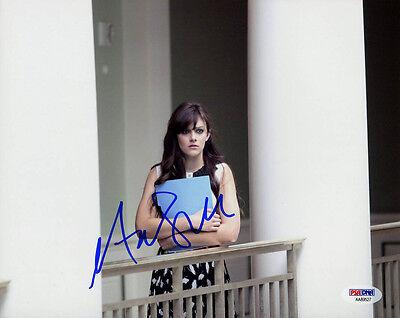 Entertainment Memorabilia Television Aubrey Peeples Signed 8x10 Photo Nashville Jem & Holograms Psa/dna Autographed