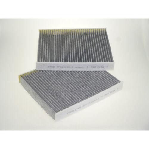 Intérieur air habitacle filtre à pollen Set Carbone Activé service-FRAM CFA112202