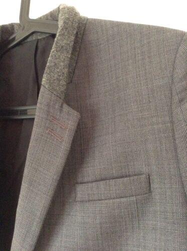 Rrp The 40 carrée 350 de gris Auth € pour 00 Kooples Bnwt hommes 100 luxe Veste qg7WqTn