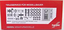 Herpa LKW  083157 MAN TGX 680 Schwerlastzugmaschine 4-achs Inhalt: 2 Stück