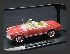 Norev Mercedes-Benz 280 SL 1:18 Metallic Red (JS)