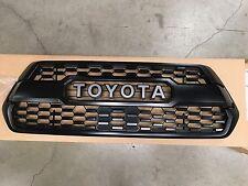 Toyota Tacoma 2016-2017 OEM TRD PRO Matte Black Grille Insert  PT228-35170  NEW