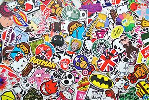 10 5 Free Random Vinyl Decal Graffiti Sticker Bomb