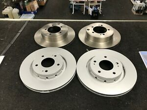 MITSUBISHI-LANCER-EVO-4-5-FRONT-REAR-BRAKE-DISC-294mm-and-284mm
