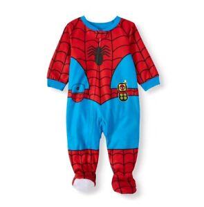 Marvel Comics Spiderman Blanket Sleeper - Boys 24M | eBay