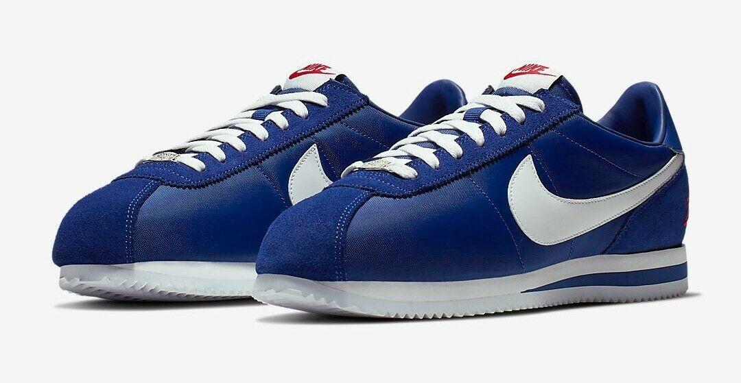Nike Cortez Los Angeles LA Dodgers Exclusive Limited Drop Deep Royal bluee 7.5-15