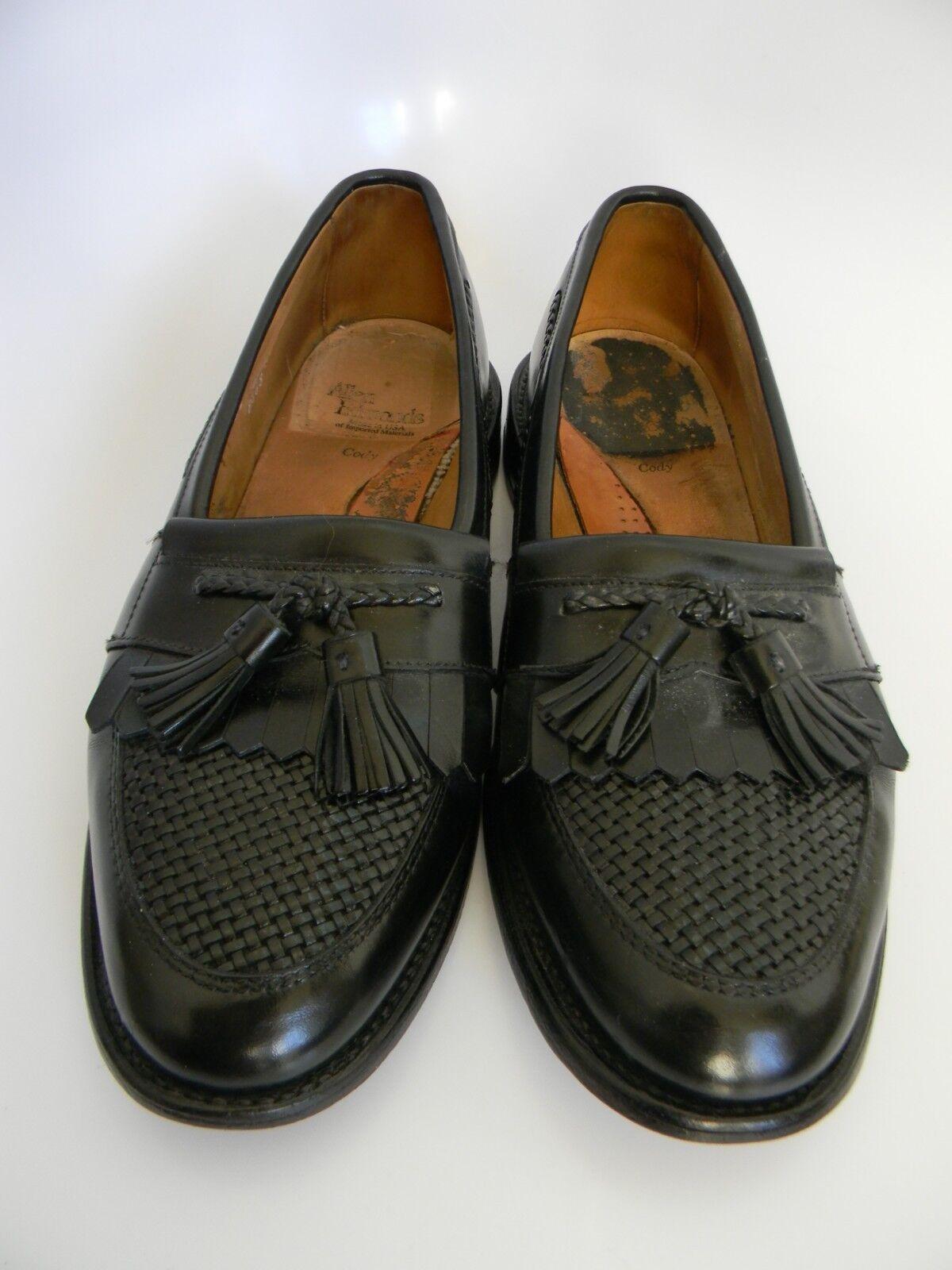 Allen Edmonds Cody Noir À Enfiler Chaussures Taille 8.5 made in USA