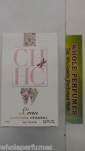 Details about MINI CH L'EAU CAROLINA HERRERA WOMEN 0.2 .2 OZ7 ML EAU FRAICHE SPLASH NIB