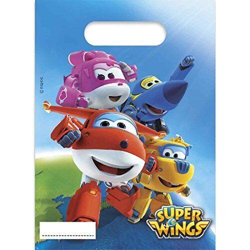 Super Wings-Vaisselle DECO Mitgebsel Enfants Anniversaire Enfants Fête D/'Anniversaire
