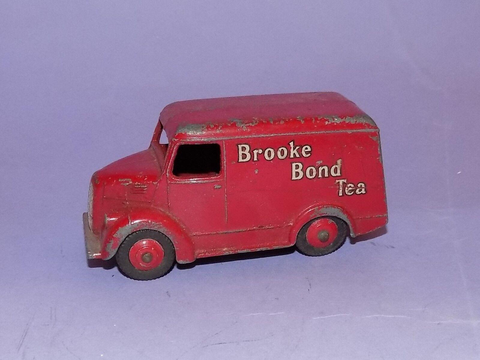 VINTAGE    1957 -1960    DINKY TOYS    NO 455    BROOKE BOND TROJAN VAN