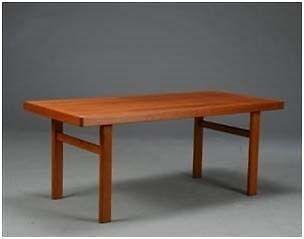 Sofabord, Dansk Designsnedkeri, teaktræ