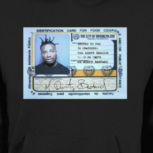 OL DIRTY BASTARD FOOD STAMP CARD WINTER HOODIE OLDSKOOL  Shirt *MANY OPTIONS*