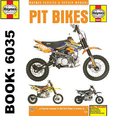 Pit Bikes - Lifan Zongshen Stomp WPB Demon-X LMX M2R Haynes Workshop Manual