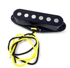 Black Alnico 5 Big Pole Middle Pickup for Fender Stratocaster/Strat® PU-SBA-MB
