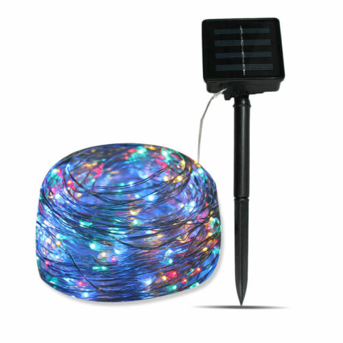 20M 200LED Solar String Lights Waterproof Copper Wire Fairy Outdoor Garden Party